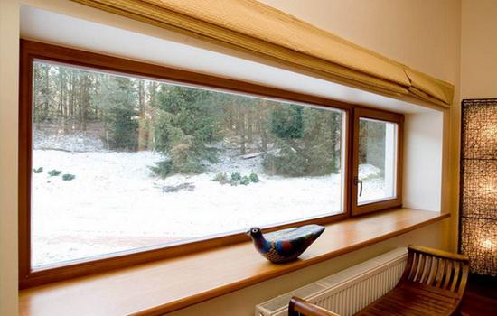 Особенности современных деревянных окон