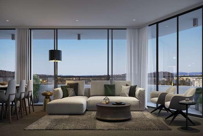 панорамное угловое окно в частном доме