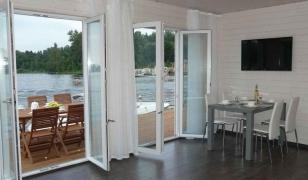 Штульповые окна-двери в интерьере