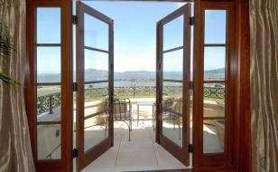 Штульповые распашные окна-двери, открывающиеся наружу