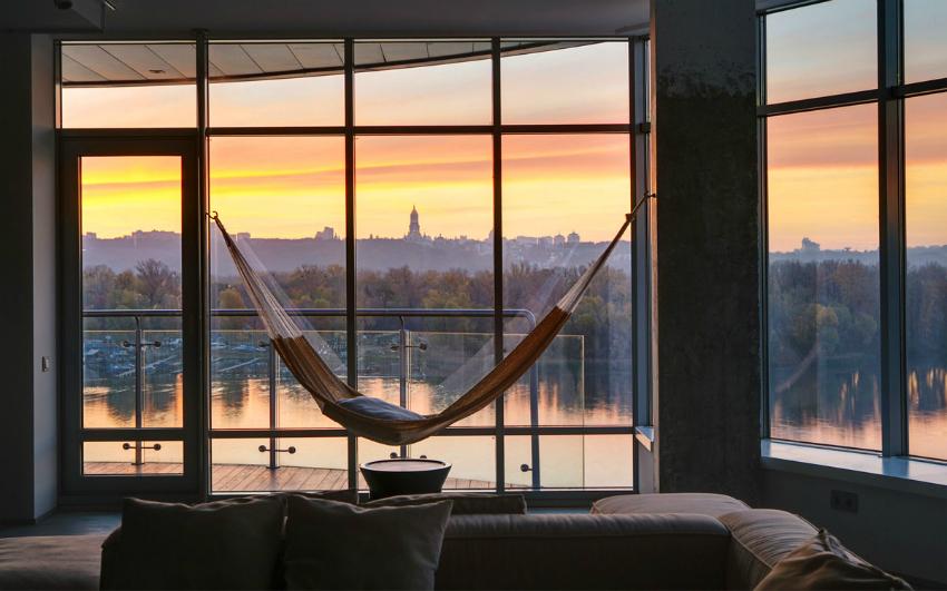 Красивый вид из окна привнесет гармонию и эстетичность в помещение