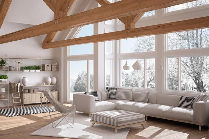 Энергоэффективные окна зимой
