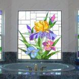 Красивые окна в загородном доме. 129 фото