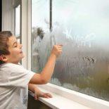 Причины образования конденсата на окнах