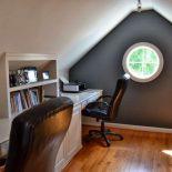 Окна округлой формы в интерьере частного дома